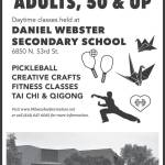Pickleball, Crafts, Fitness, Tai Chi & Qigong for Adults 50 and Up