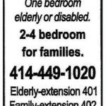 Affordable Apartment Homes for Elderly, Disabled and Families