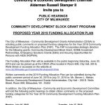 Community Development Block Grant Hearings on July 16 and 17
