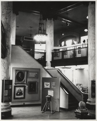 Exhibitions in the MCHS building.