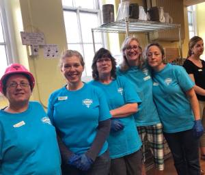 St. Ben's Meal Program, Women of Steel, Milwaukee Area Labor Council
