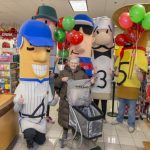 Kohl's and the Brewers Racing Sausages help make it a Merry Christmas