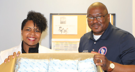 MHSI receives gift of 3,500 surgical masks from the Taiwanese government
