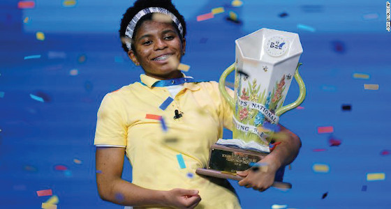 First African American to win the National Spelling Bee gets offer of full LSU scholarship