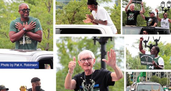 Milwaukee celebrates a Milestone Bucks Victory