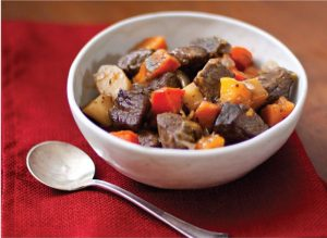Hearty Beef Stew with Roast  Vegetables