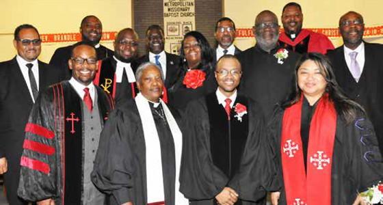 Metropolitan Missionary Baptist Church installs new pastor