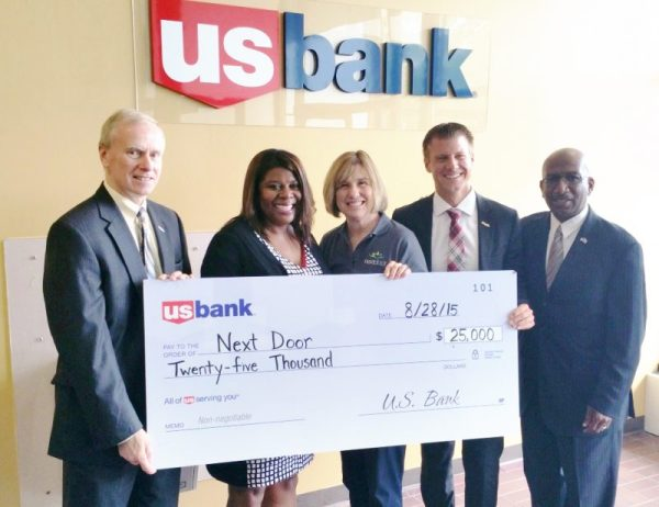 Next Door awarded $25,000 grant from U.S. Bank Foundation