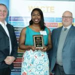 Alexandria Harris receives Early Career Educator Award