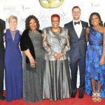Mayor Barrett hosts gala 2018 Masked Ball for UNCF