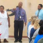 MUL helps kick off the new school year at Oliver Wendell Holmes School