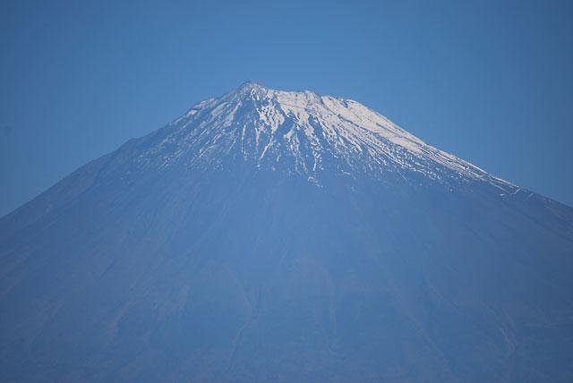静岡から見た富士山