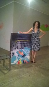 María Tenorio, articulista y bloguera, esposa de Miguel Huezo-Mixco