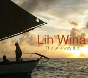 El póster de la película Lih Wina, the one-way trip.