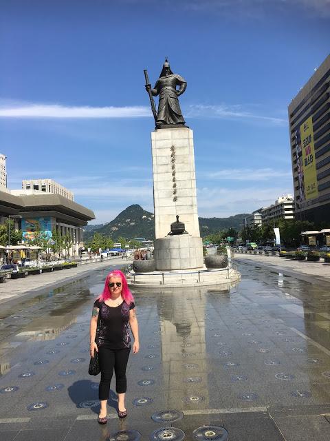 Plaza de Gwanghwamun Seul