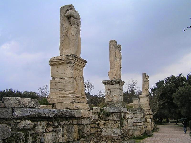Atenas Via Panatenaica