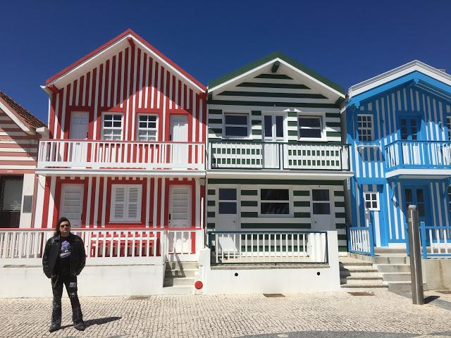 Viaje a Portugal - Aveiro, Costa Nova, Coimbra, Óbidos, Nazaré