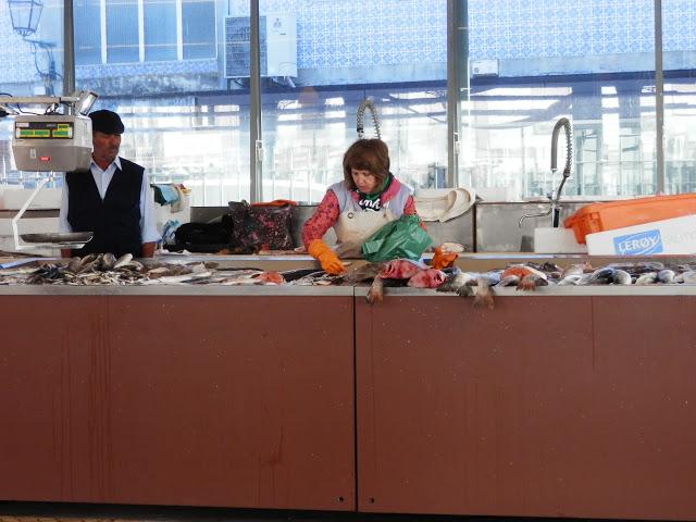 lonja en el Mercado do Peixe Aveiro