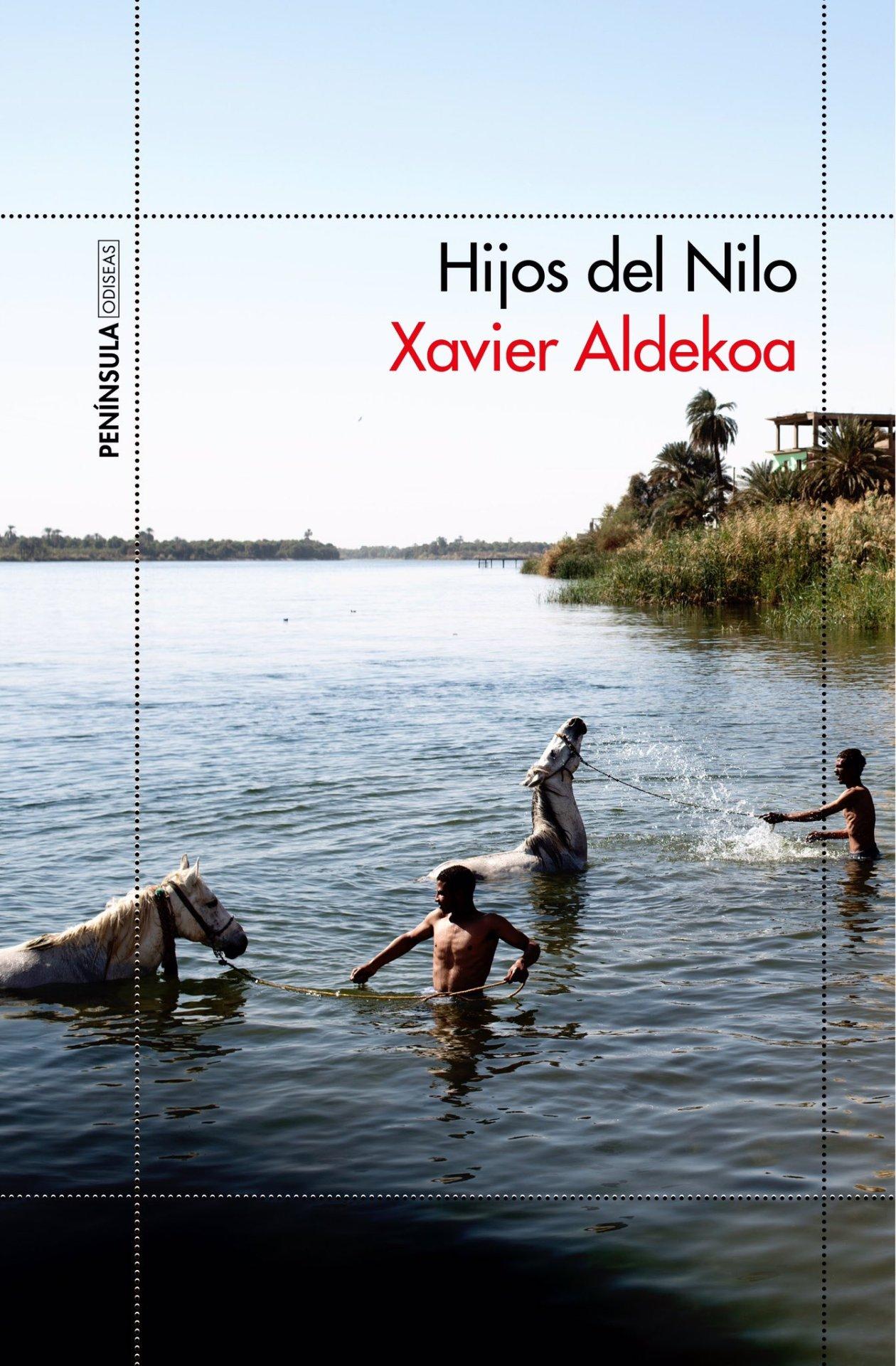 Libro Hijos del Nilo Xavier Aldekoa