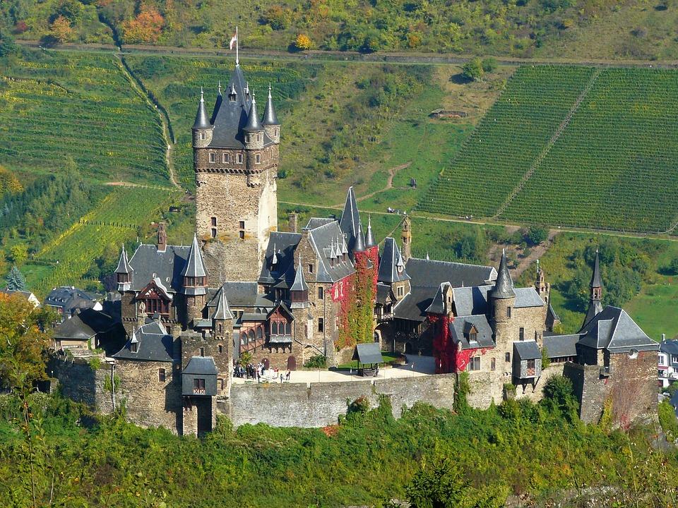 Castillo Cochem Alemania