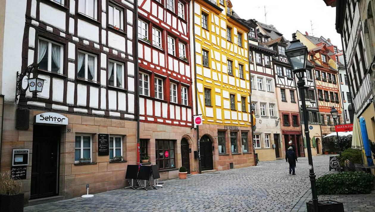 Calle Weißgerbergasse Nuremberg
