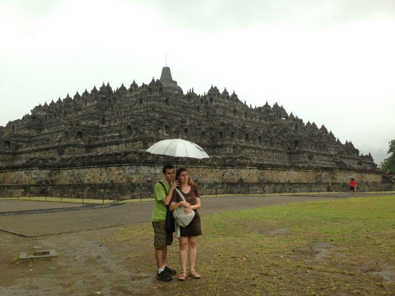JJ i jo a Borobudur