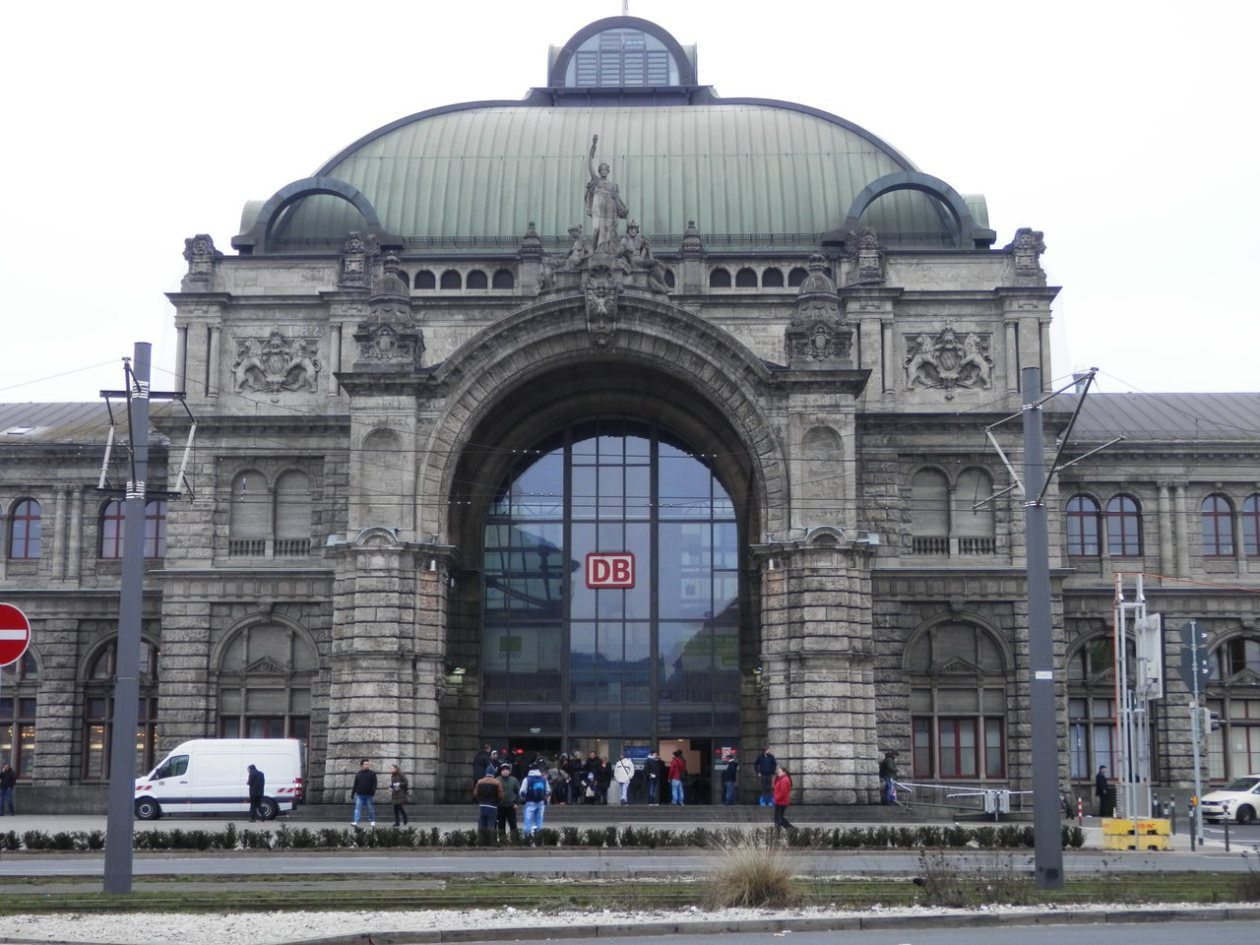 Estación de trenes de Nuremberg