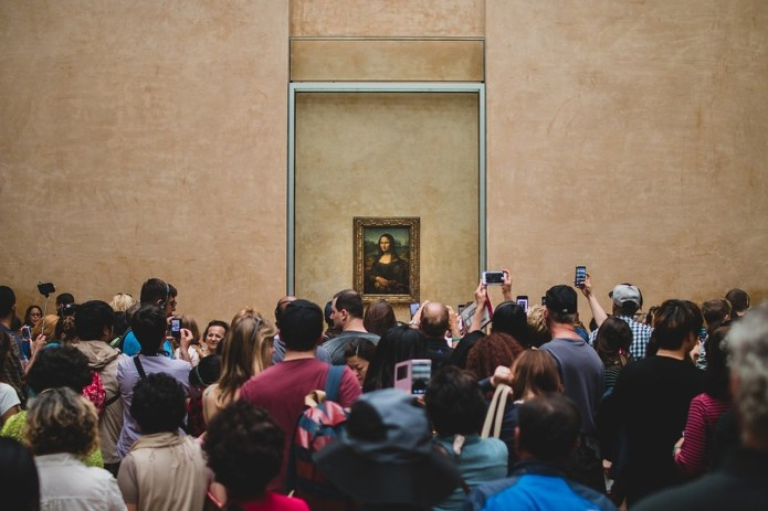 Mona Lisa Louvre Paris
