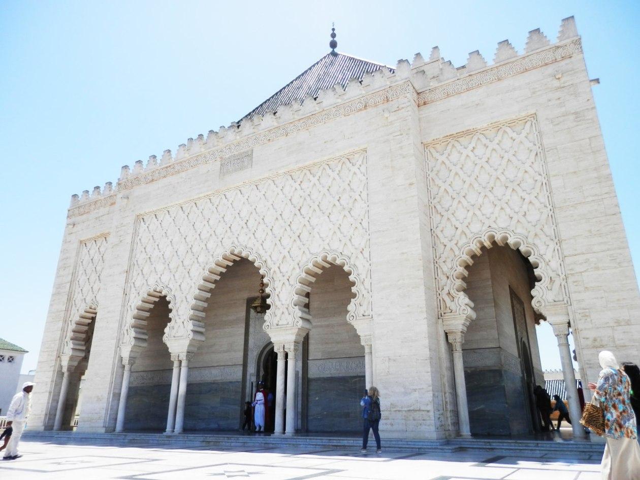 Mausoleo Mohamed V Rabat
