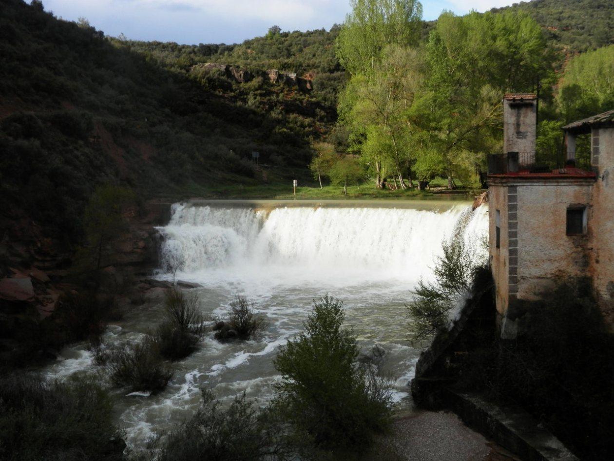 Salto Bierge Aragon