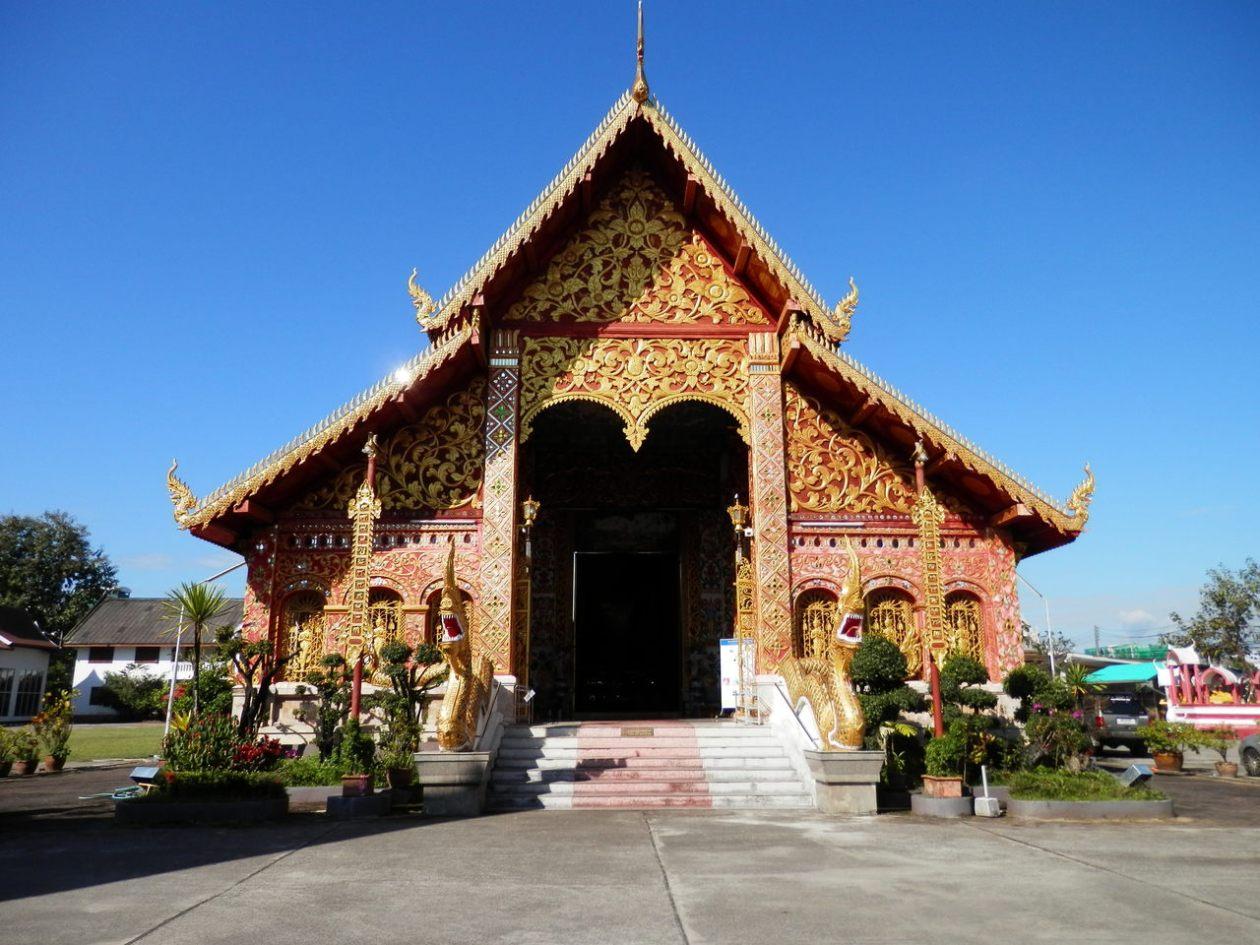 Wat Jet Yod Chiang Rai