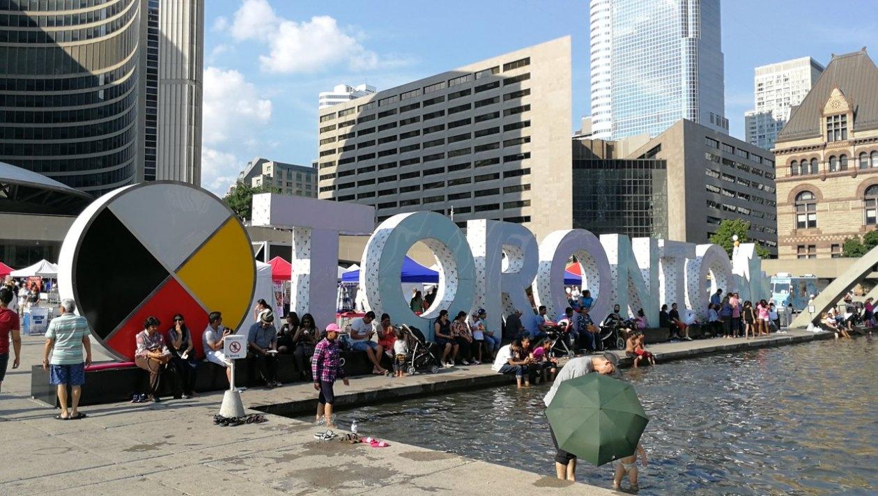Nathan Phillips Square Toronto
