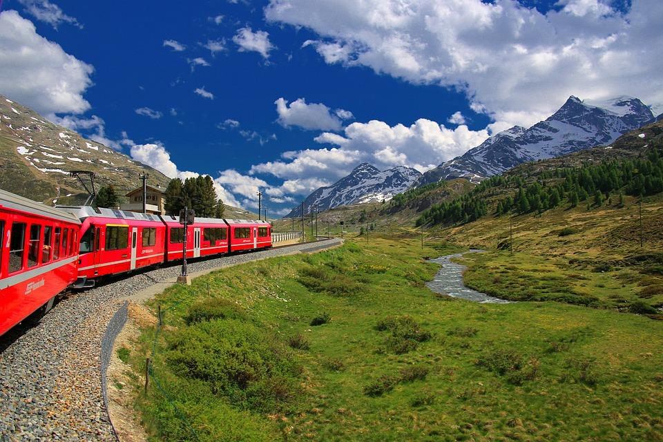 Bernina Express Suiza