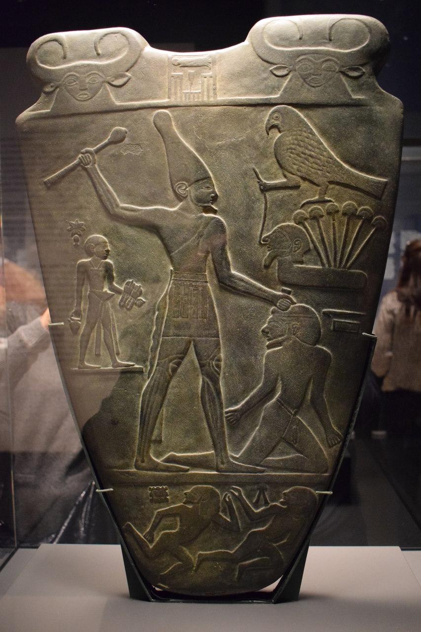 Paleta Narmer Egipto
