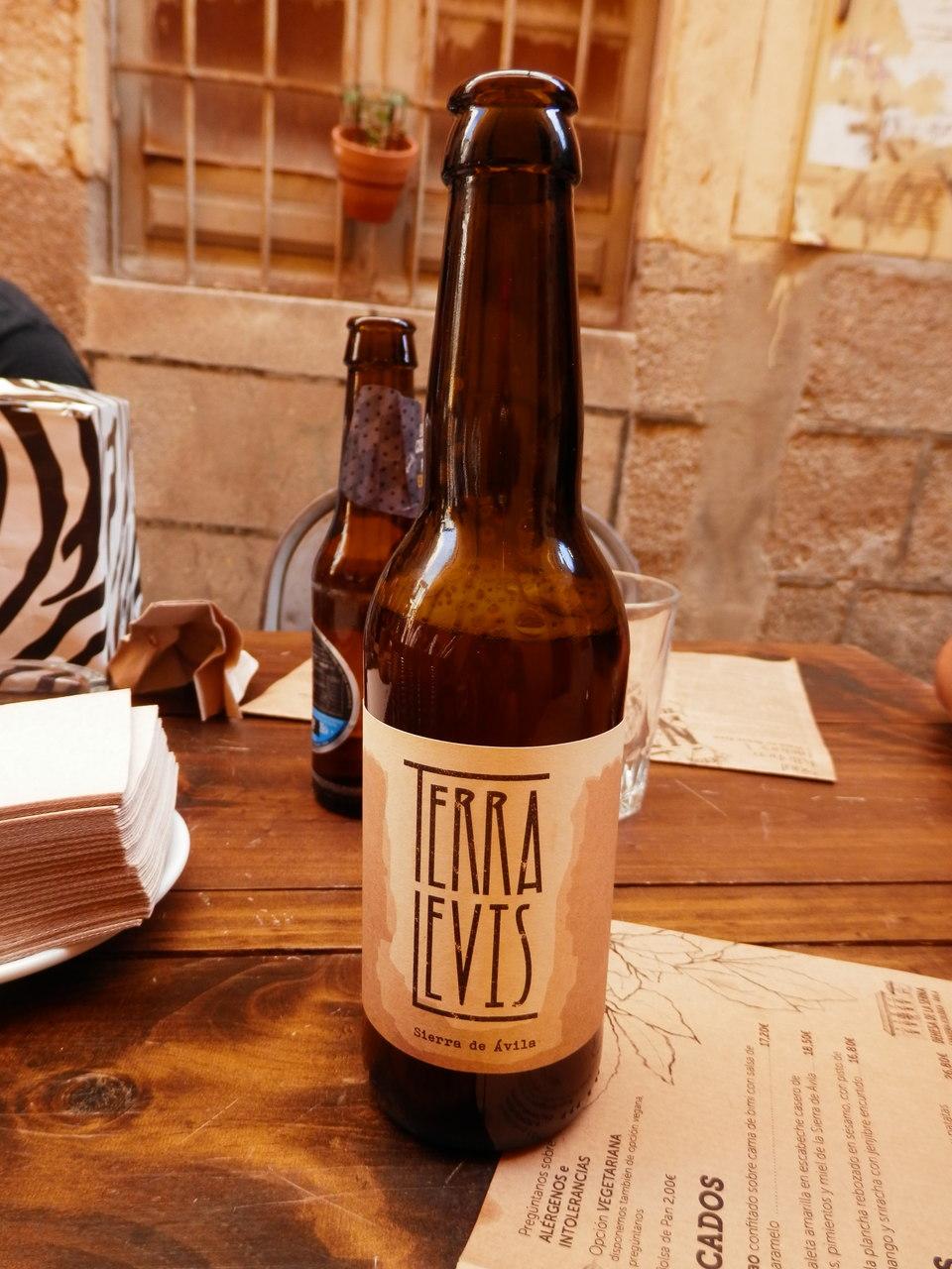 Cerveza Terra Levis