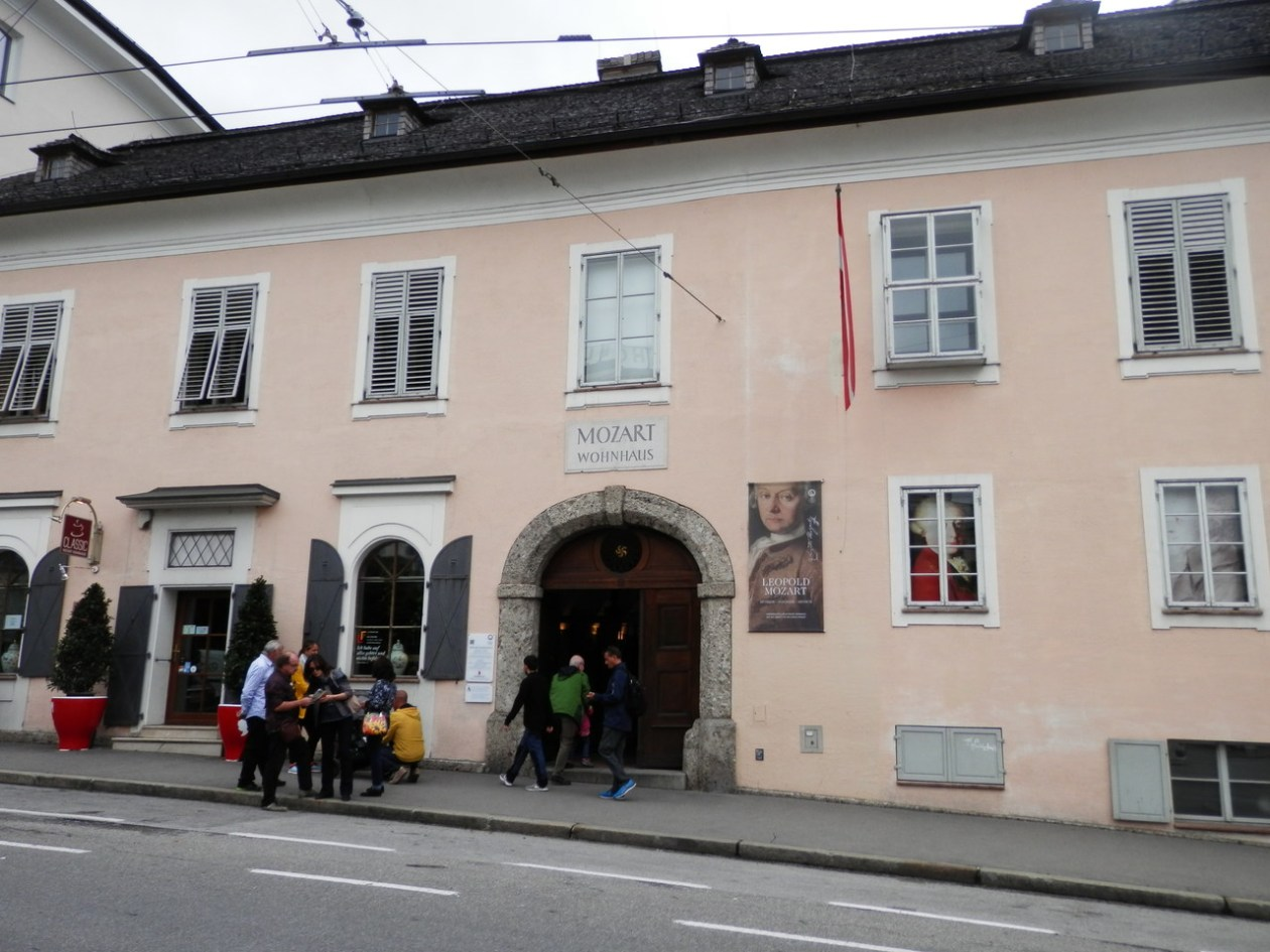 Casa Mozart Salzburgo
