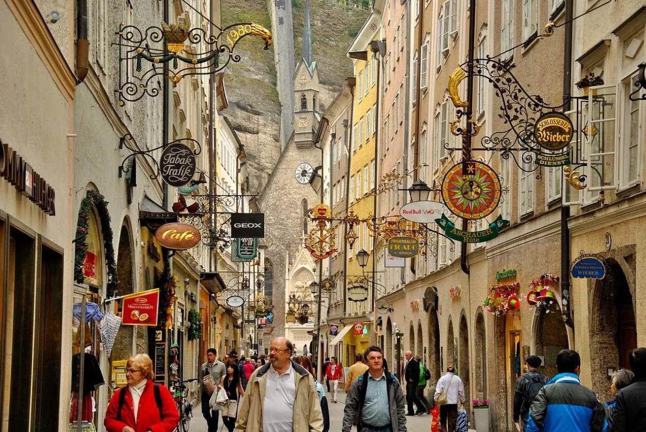 Salzburgo Getreidegasse