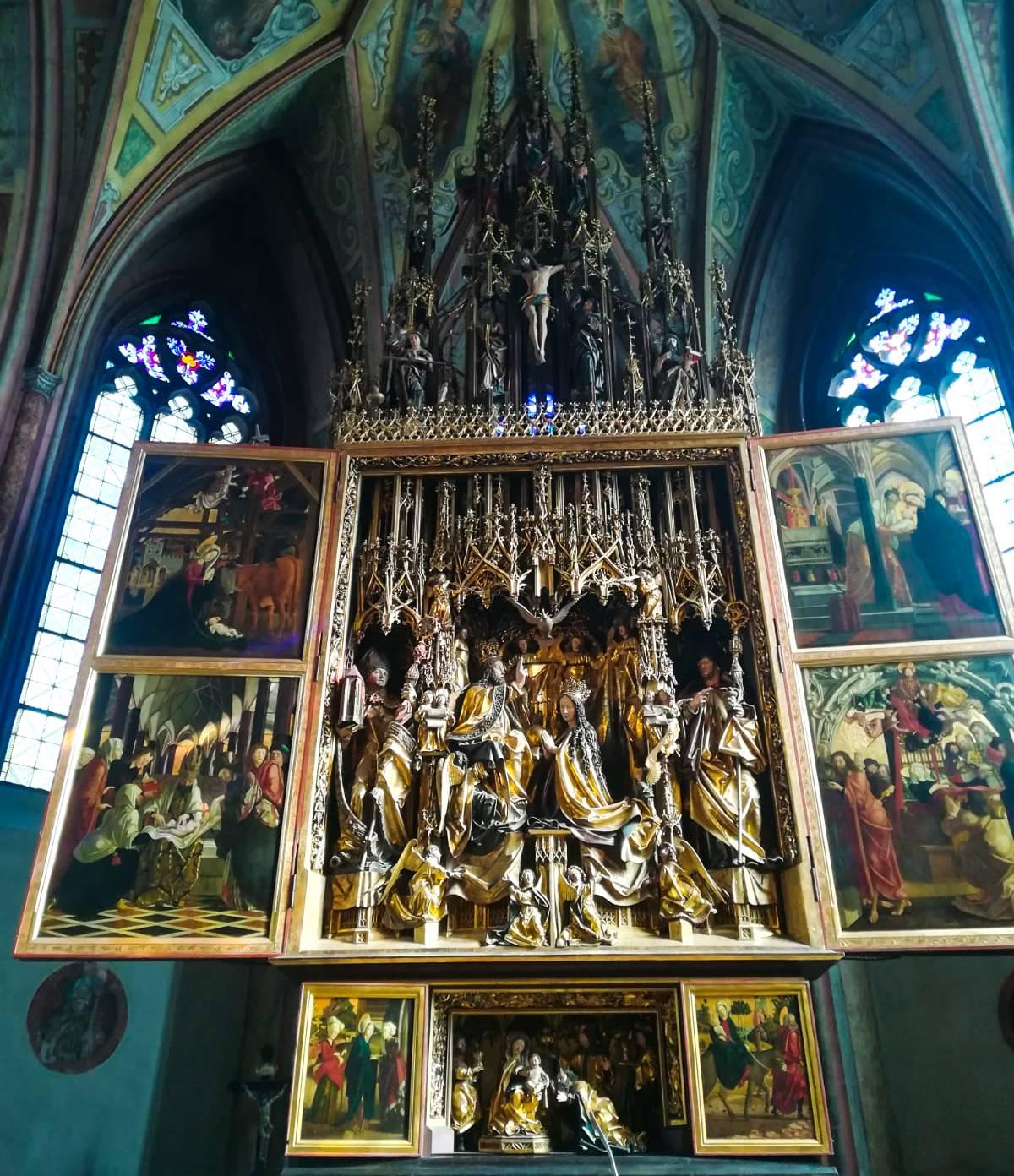 Pacher Altar St Wolfgang