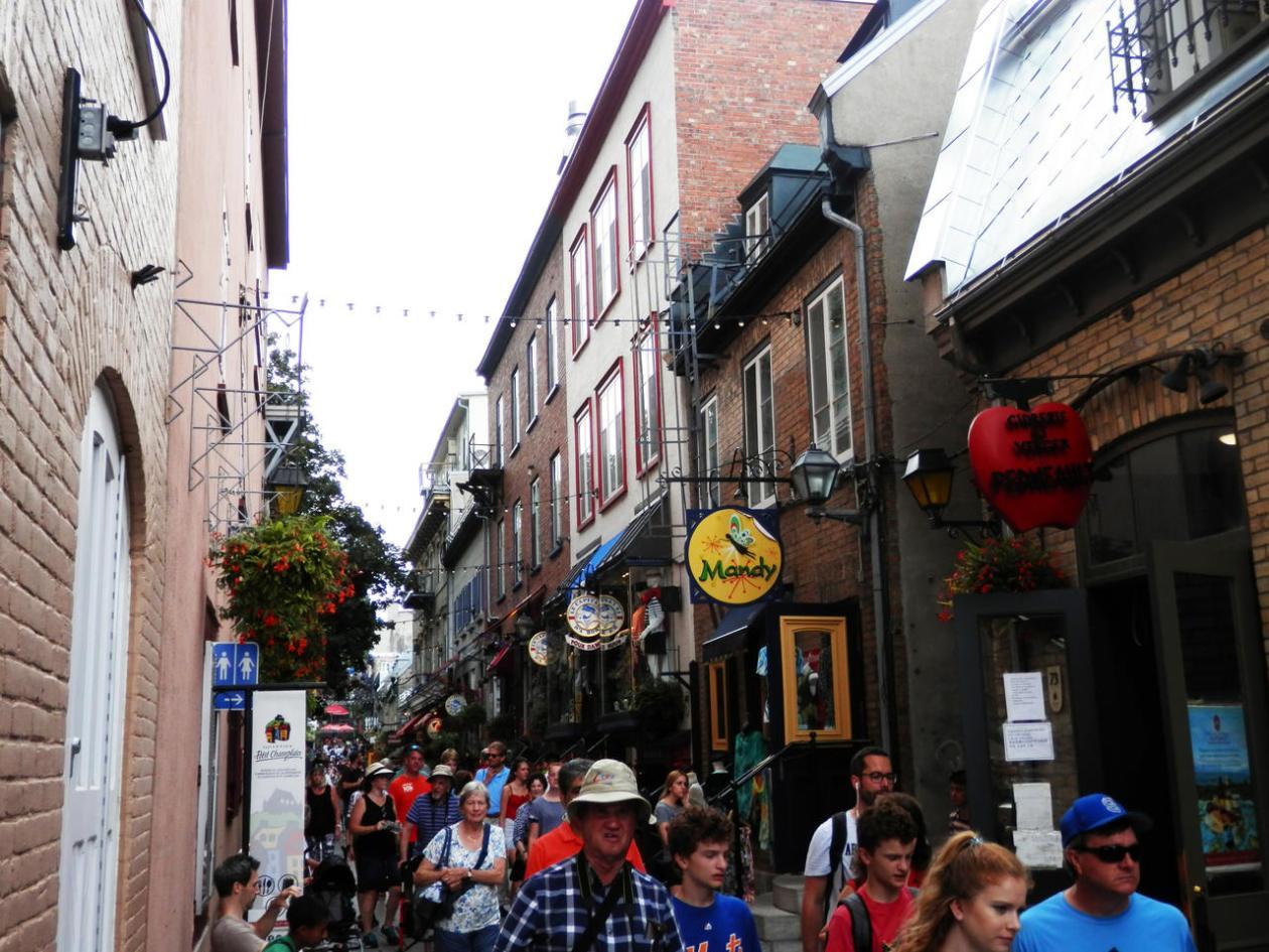 Rue du Petit‑Champlain
