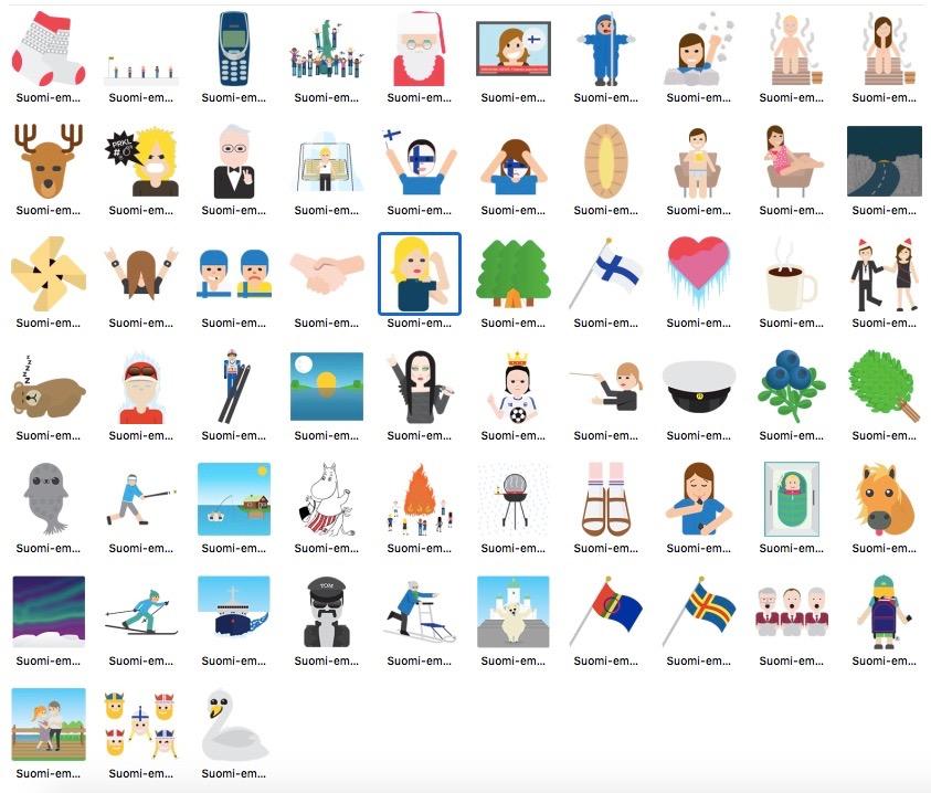 Emoji Finlandia