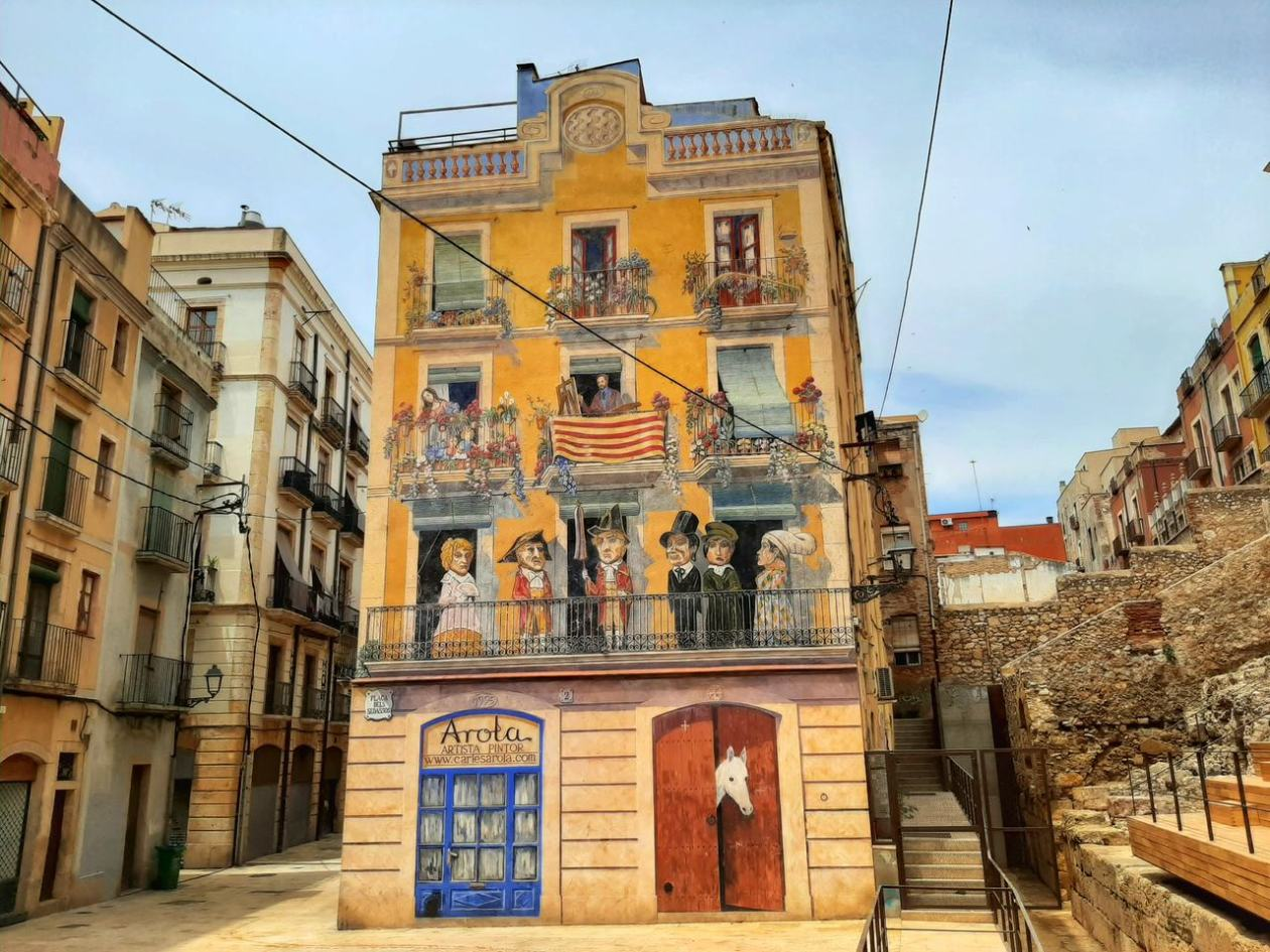 Mural Tarragona