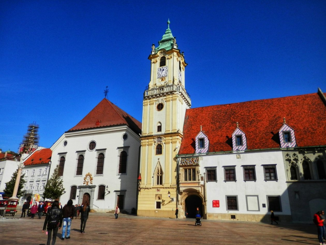 Bratislava Plaza Mayor