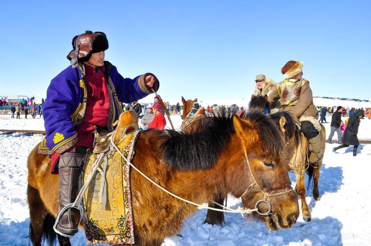 Jinetes Mongolia