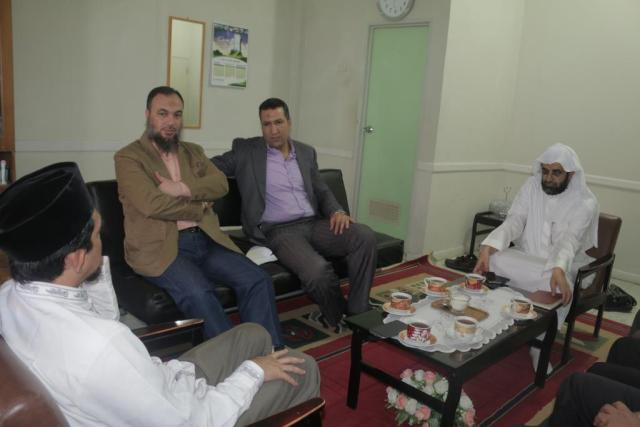 a visit to the office of Wahdah Islamiyah
