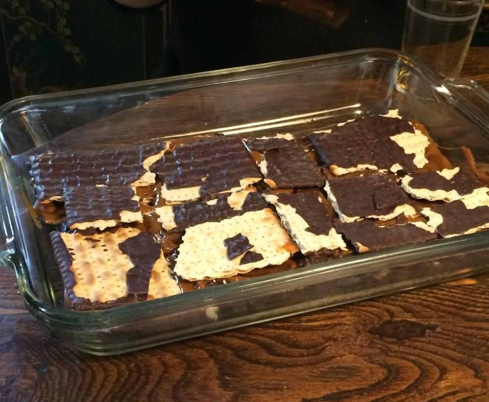 Passover Dessert - Matzahmisu! (1/4)