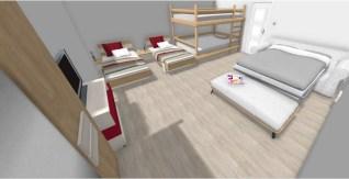 Apartment 1 kids bedroom Jasmin