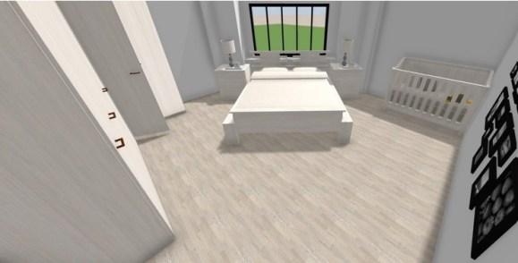 Apartment 1 master bedroom Jasmin