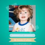 Desarrollo infantil 36 meses