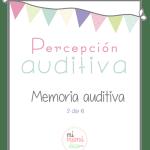 Percepción auditiva: memoria auditiva