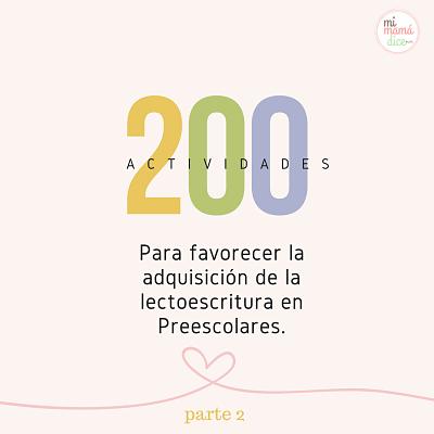 200 actividades para favorecer la adquisición de la lectoescritura ...